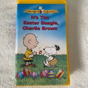 Charlie Brown Easter VHS Tape